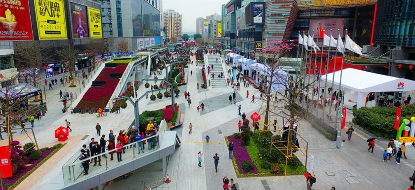 Huaqiangbei Commercial Street