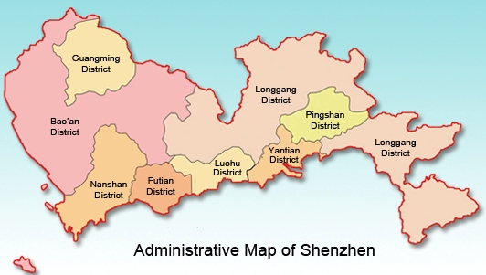 Maps Of Shenzhen