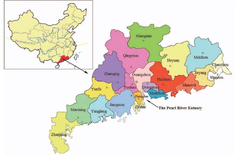 Maps of Shenzhen